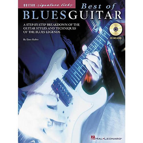 Hal Leonard Best of Blues Guitar Book/CD