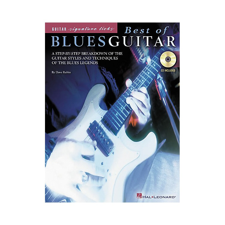 Hal LeonardBest of Blues Guitar Book/CD