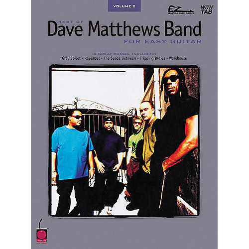 Cherry Lane Best of Dave Matthews Band Easy Guitar Tab Songbook