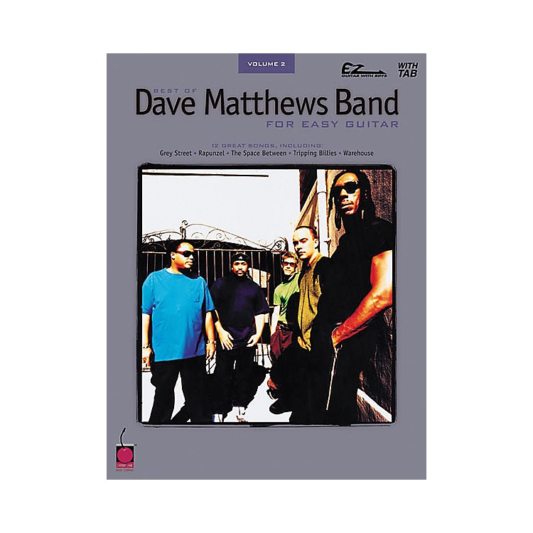 Cherry LaneBest of Dave Matthews Band Easy Guitar Tab Songbook