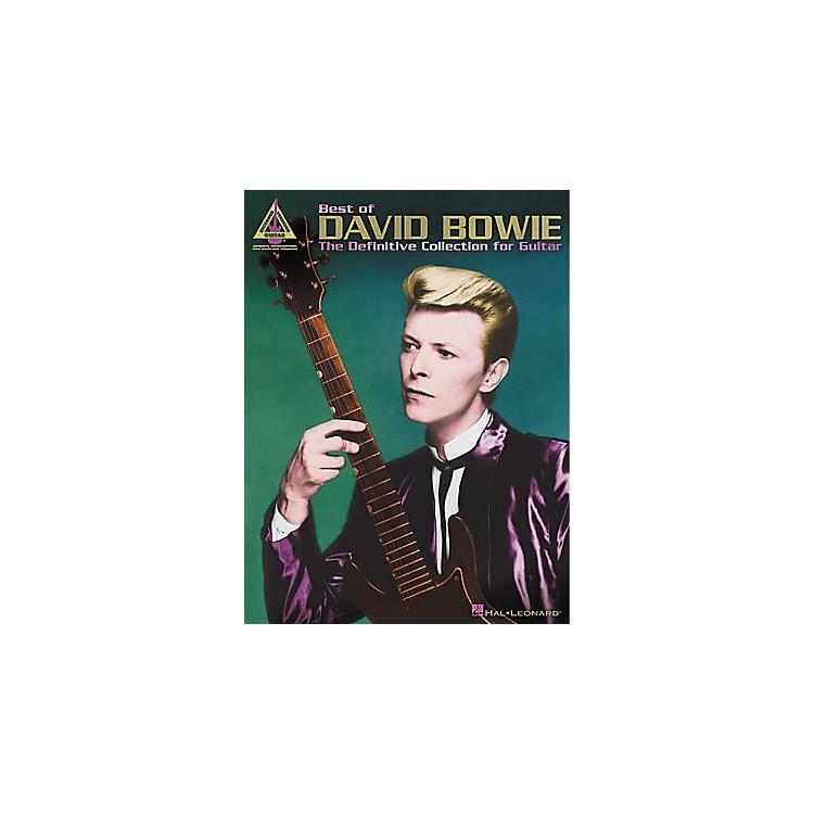 Hal LeonardBest of David Bowie Guitar Tab Book