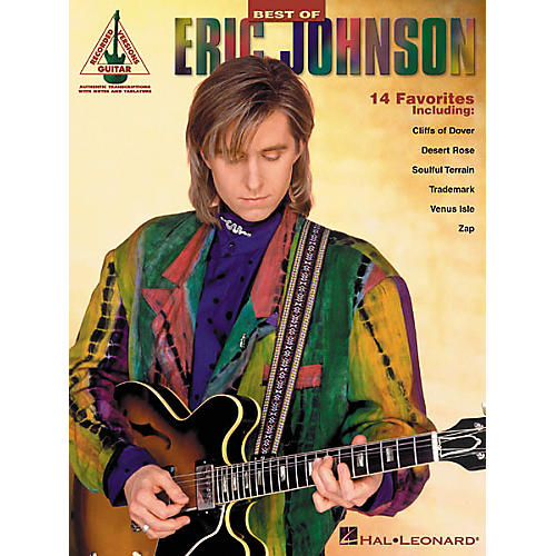 Hal Leonard Best of Eric Johnson Guitar Tab Songbook-thumbnail