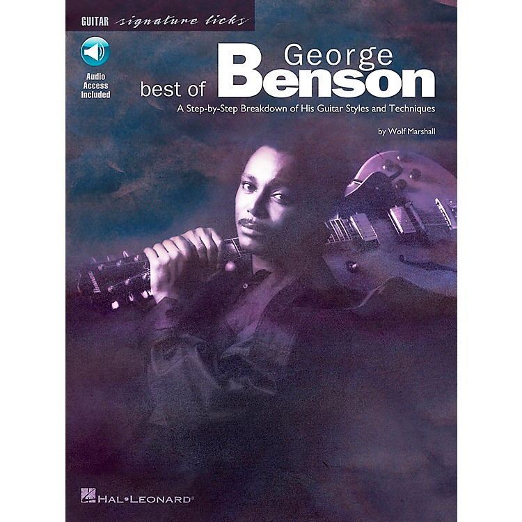 Hal Leonard Best of George Benson Signature Licks Book with CD
