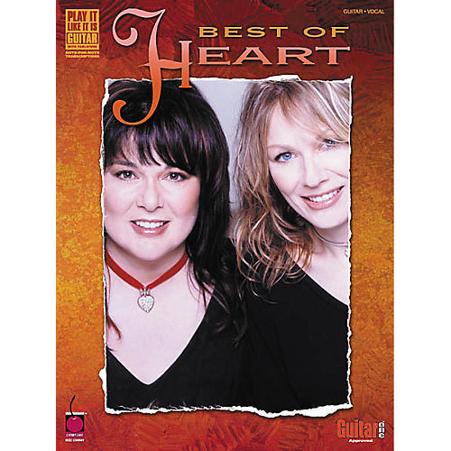 Cherry Lane Best of Heart Guitar Tab Songbook