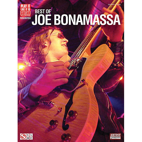 Cherry Lane Best of Joe Bonamassa Play It Like It Is Guitar Tab Songbook