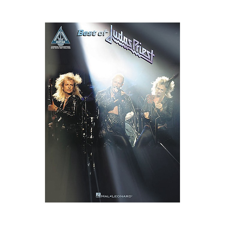 Hal Leonard Best of Judas Priest Guitar Tab Songbook