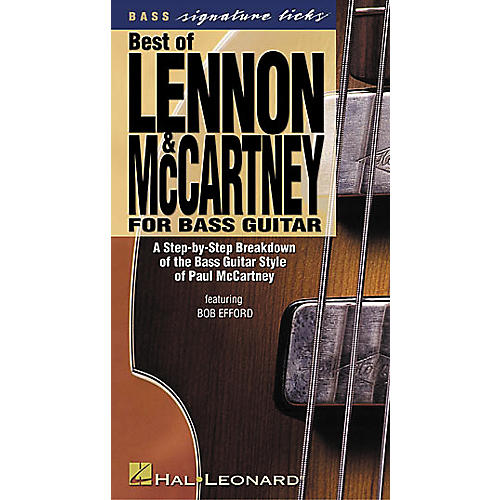Hal Leonard Best of Lennon and McCartney for Bass Guitar (VHS)-thumbnail