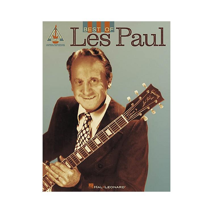 Hal LeonardBest of Les Paul Guitar Tab Songbook