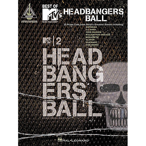 Hal Leonard Best of MTV Headbangers Ball Guitar Tab Songbook