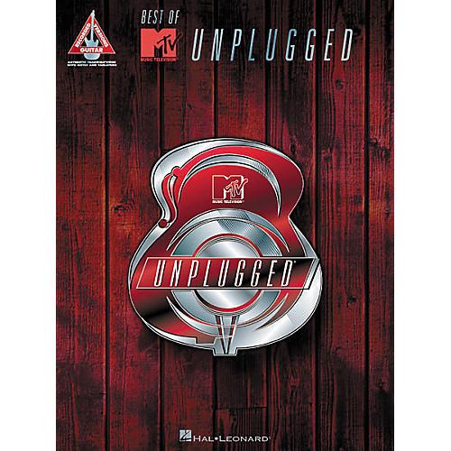 Hal Leonard Best of MTV Unplugged Guitar Tab Songbook