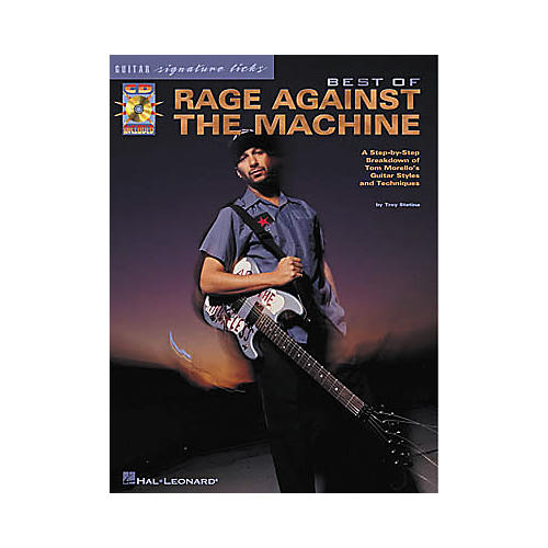 Hal Leonard Best of Rage Against The Machine Signature Licks Book with CD