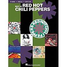 Hal Leonard Best of Red Hot Chili Peppers Piano, Vocal, Guitar Songbook