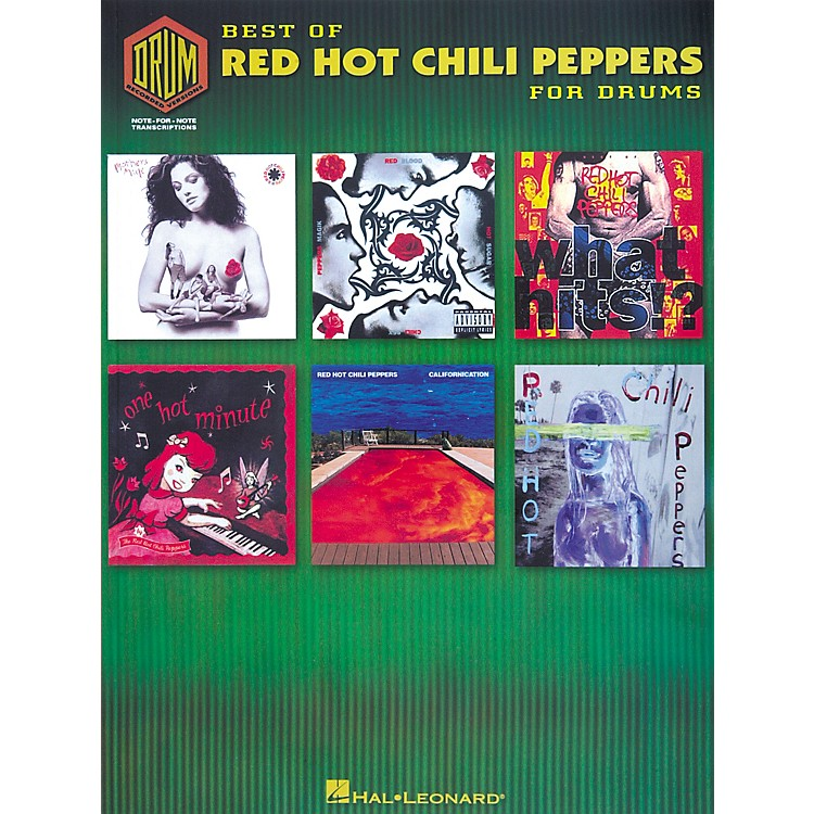 Hal Leonard Best of Red Hot Chili Peppers for Drums Book