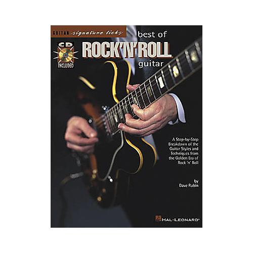 Hal Leonard Best of Rock 'n' Roll Guitar Signature Licks Book/CD