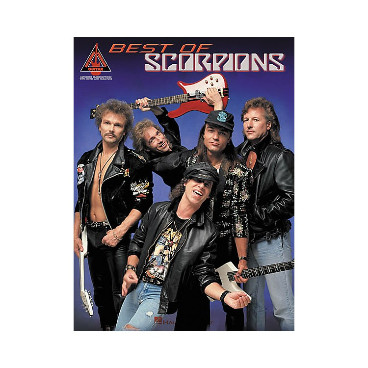 Hal LeonardBest of Scorpions Guitar Tab Songbook