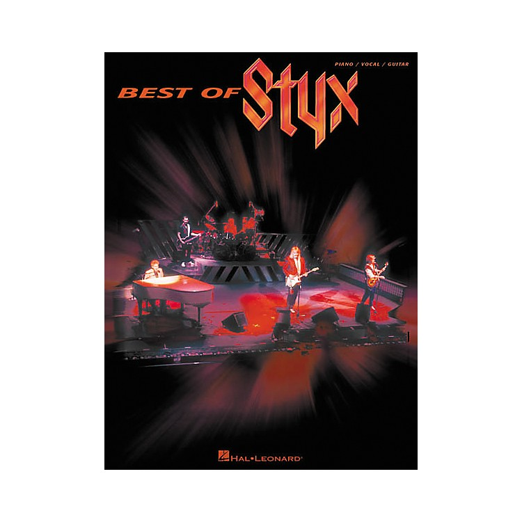 Hal Leonard Best of Styx Piano, Vocal, Guitar Songbook