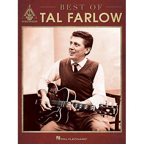Hal Leonard Best of Tal Farlow Guitar Recorded Version Series Softcover Performed by Tal Farlow-thumbnail