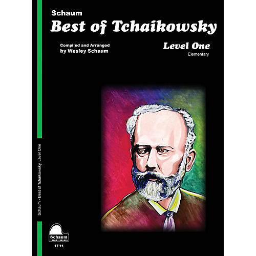 SCHAUM Best of Tchaikowsky (Level 1 Elem Level) Educational Piano Book-thumbnail