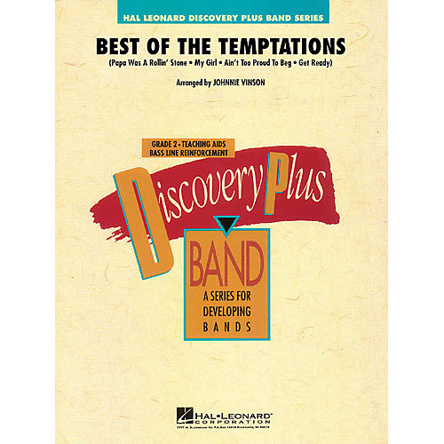 Hal Leonard Best of The Temptations - Discovery Plus Band Level 2 arranged by Johnnie Vinson