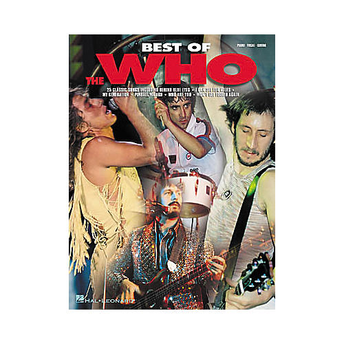 Hal Leonard Best of The Who Book