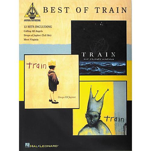 Hal Leonard Best of Train Book