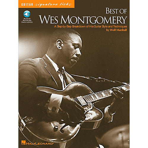 Hal Leonard Best of Wes Montgomery Signature Licks Book with CD