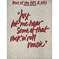 Hal Leonard Best of the 50's & 60's Guitar Tab Songbook thumbnail