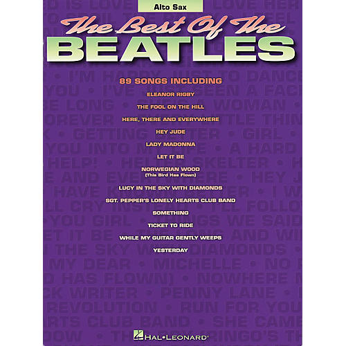 Hal Leonard Best of the Beatles - Alto Saxophone (Saxophone)