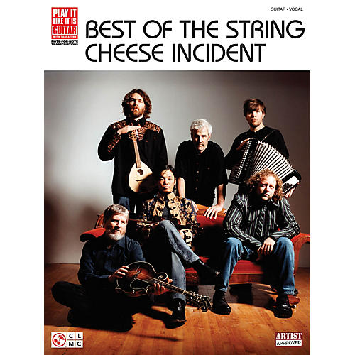 Cherry Lane Best of the String Cheese Incident Play It Like It Is Series Softcover by String Cheese Incident-thumbnail