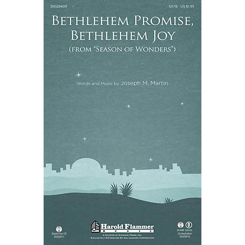 Shawnee Press Bethlehem Promise, Bethlehem Joy (from Season of Wonders) Studiotrax CD Composed by Joseph M. Martin-thumbnail