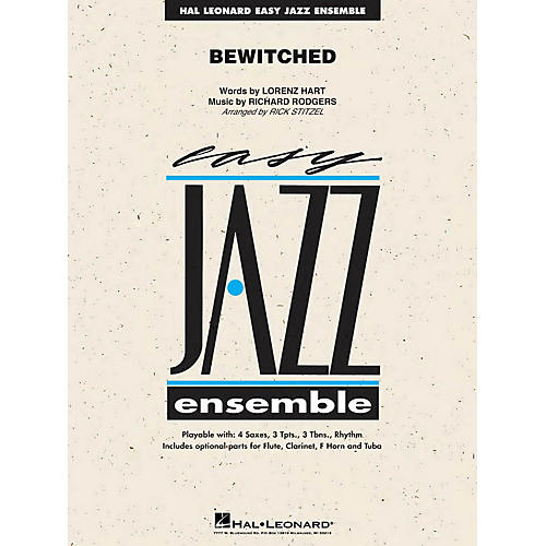Hal Leonard Bewitched Jazz Band Level 2 Arranged by Rick Stitzel-thumbnail