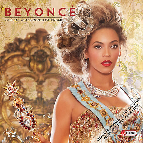 Browntrout Publishing Beyoncé 2014 Calendar Square 12x12