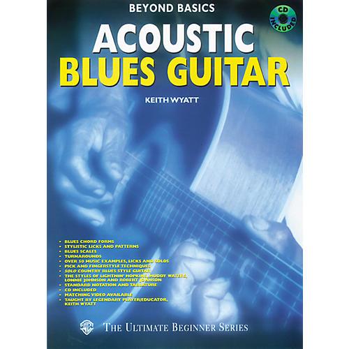 Alfred Beyond Basics - Acoustic Blues Guitar (Book/CD)-thumbnail