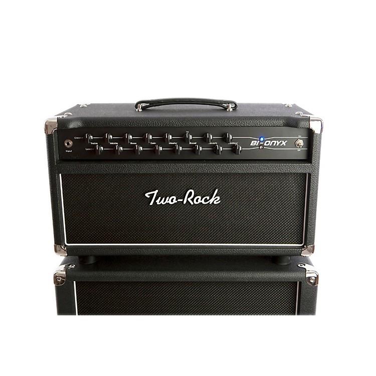 Two RockBi-Onyx 50W Tube Guitar HeadBlack