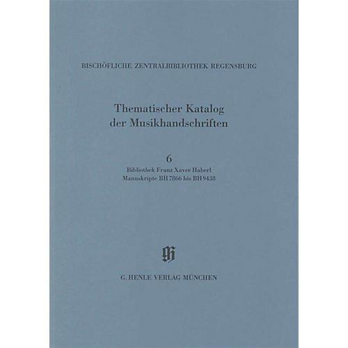 G. Henle Verlag Bibliothek Franz Xaver Haberl Henle Books Series Softcover-thumbnail