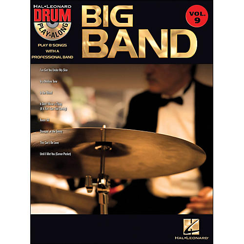 Hal Leonard Big Band - Drum Play-Along Volume 9 Book/CD-thumbnail
