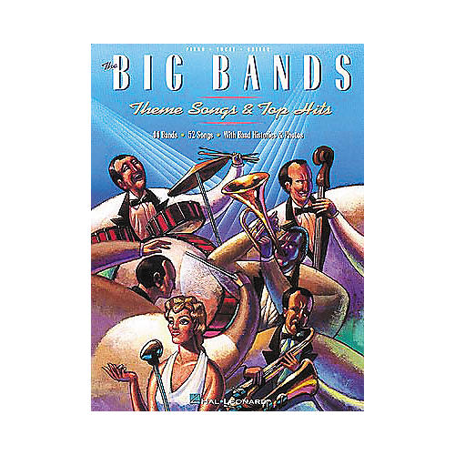 Hal Leonard Big Bands - Themes & Top Hits Piano, Vocal, Guitar Songbook