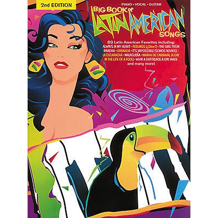 Hal LeonardBig Book Of Latin American Songs Piano, Vocal, Guitar Songbook
