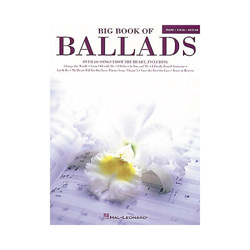 Hal Leonard Big Book of Ballads Book