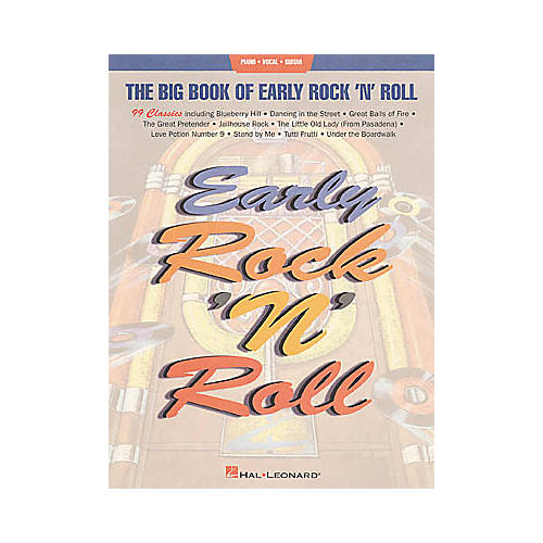 Hal Leonard Big Book of Early Rock'n'Roll Songbook-thumbnail