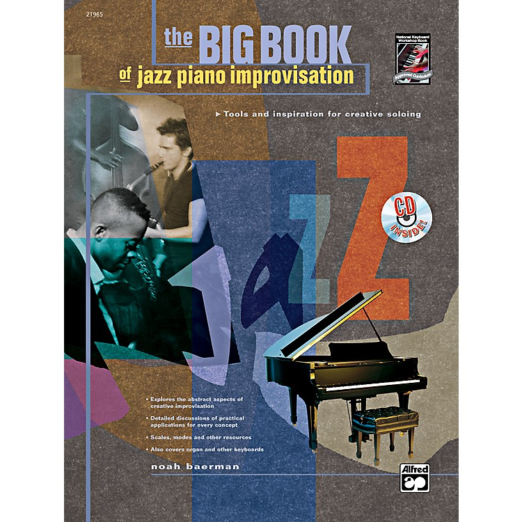 Alfred Big Book of Jazz Piano Improvisation Book & CD
