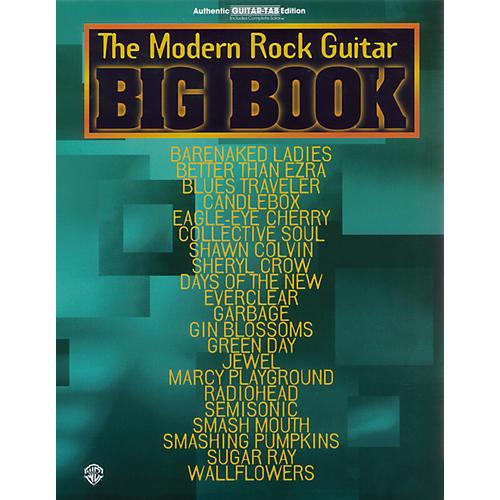 Alfred Big Book of Modern Rock Guitar