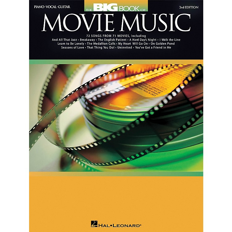 Hal Leonard Big Book of Movie Music Piano, Vocal, Guitar Songbook 2nd Edition