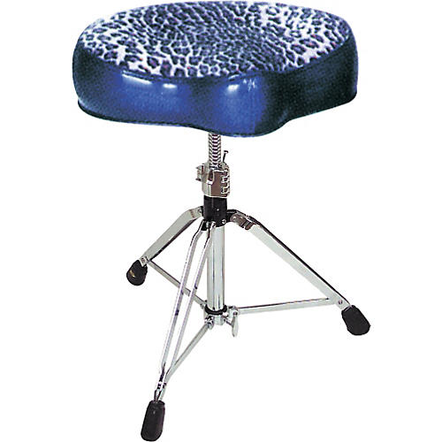 Pork Pie Big Boy Bicycle Throne Blue with Leopard Top