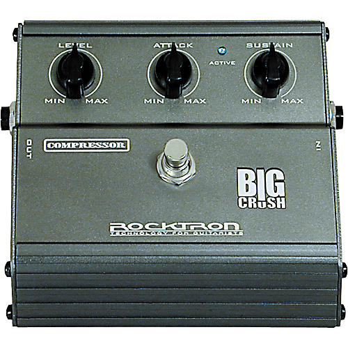 Rocktron Big Crush Compressor Pedal