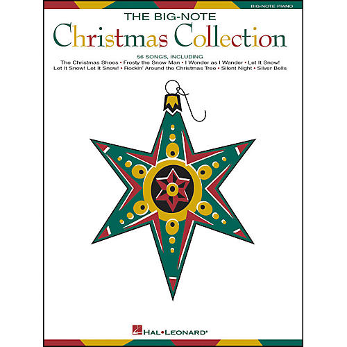 Hal Leonard Big Note Piano Christmas Collection-thumbnail