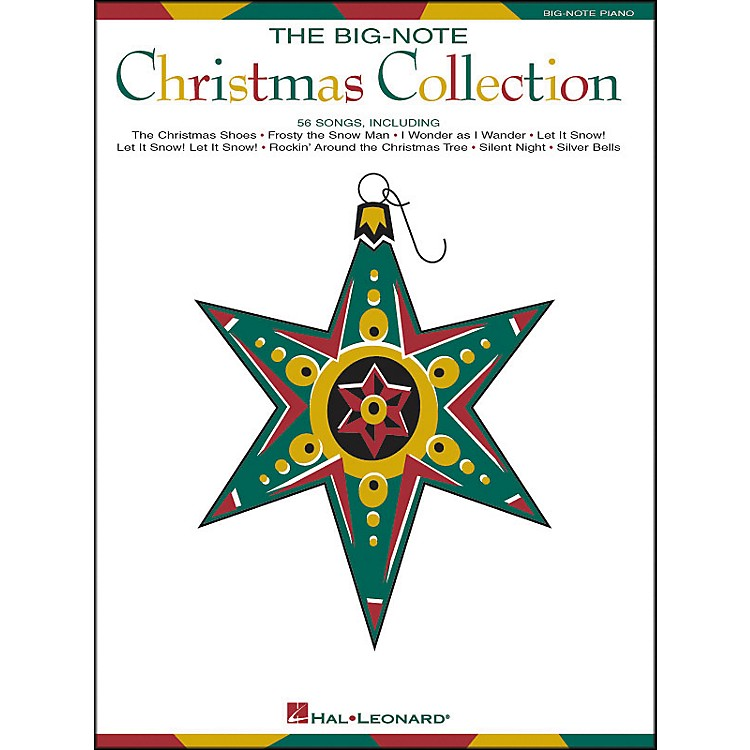 Hal Leonard Big Note Piano Christmas Collection