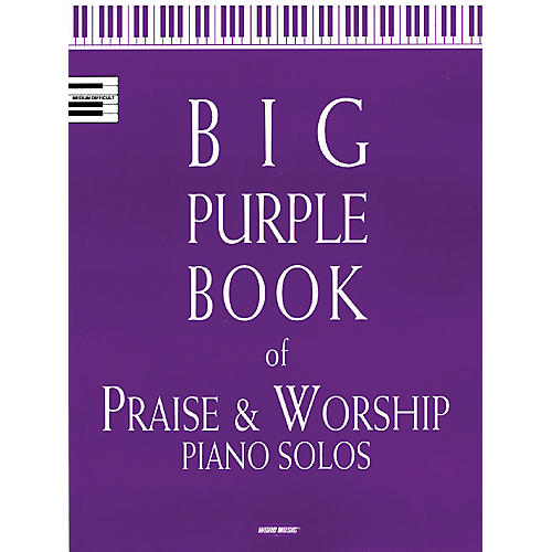 Word Music Big Purple Book Of Praise & Worship Piano Solos-thumbnail