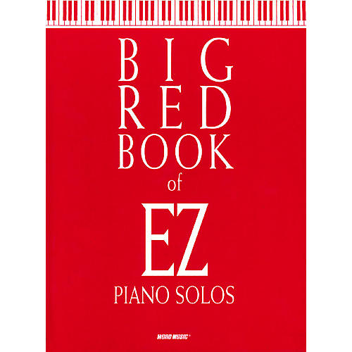 Word Music Big Red Book of EZ Piano Solos Sacred Folio Series (Easy)-thumbnail