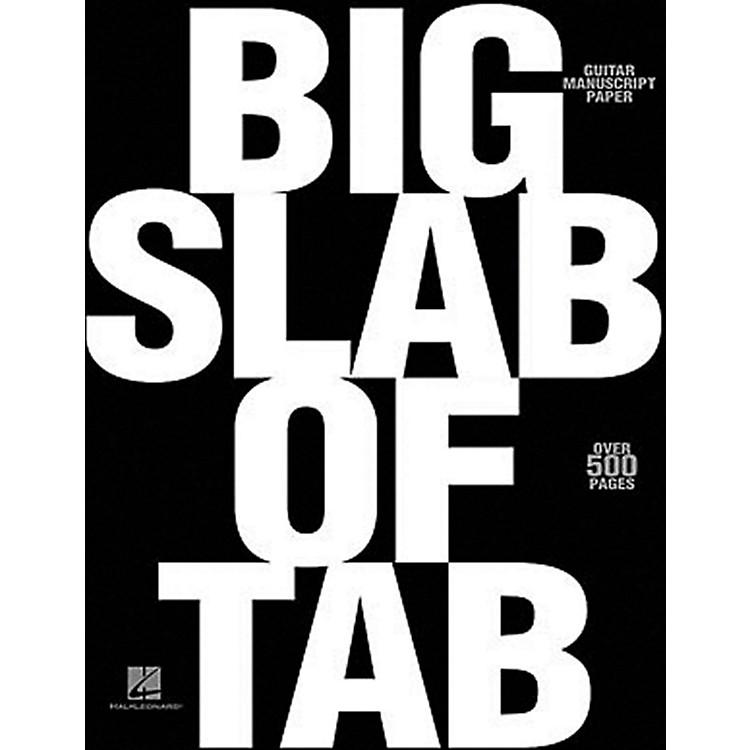 Hal LeonardBig Slab of Tab